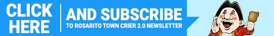 Rosarito town Crier subscribe