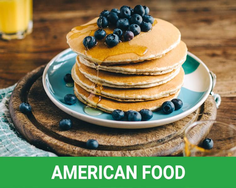 American Food Rosarito Beach