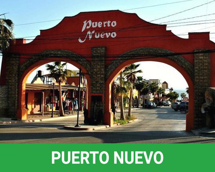 Puerto Nuevo Rosarito Beach