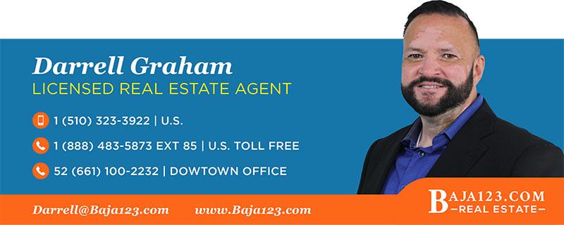 Darrell Graham - Rosarito Beach Real Estate Agent