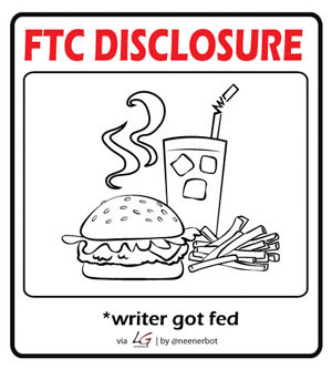 Louis Gray FTC Disclosure Graphic