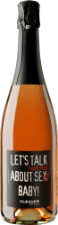 2019 Emil Bauer »Let's talk about Pinot Rosé Se(x)kt Baby!«