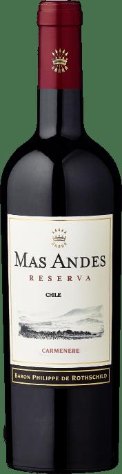 2018 Mas Andes Reserva Carmenère