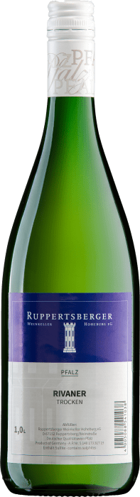 2019 Winzerverein Hoheburg  Ruppertsberger Rivaner 1 l