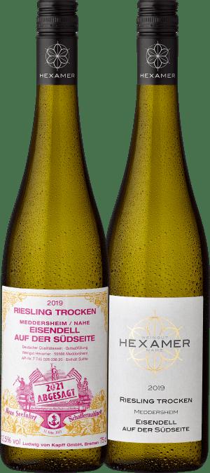 2019 Hexamer Riesling Eisendell auf der Südseite - Weißer Schafferwein 2021