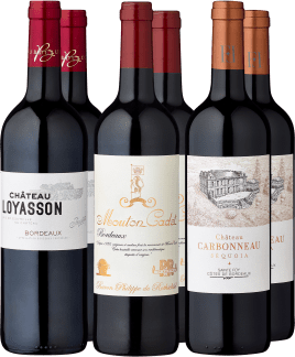 6er Probierpaket »Best Buy Bordeaux«