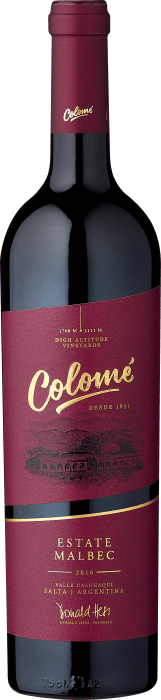2018 Colomé Estate Malbec