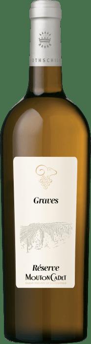 2018 Mouton Cadet Réserve Graves Blanc