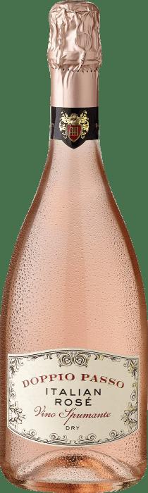 Doppio Passo Italian Rose Vino Spumante Dry