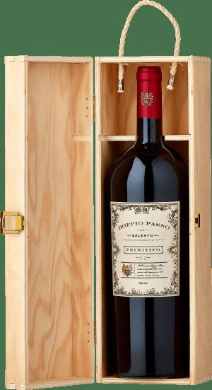 2019 Doppio Passo Primitivo in der Magnumflasche