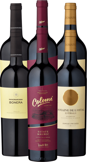 6er Probierpaket »Rotwein-Lieblinge für besondere Herbstmomente«