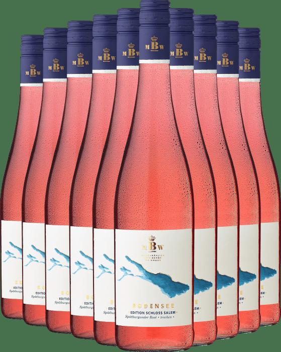 Markgräflich Badisches Weinhaus »Edition Schloss Salem« Spätburgunder Rosé im 10er Vorratspaket
