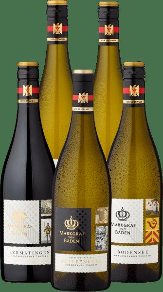 Probierpaket »Markgraf von Baden - Zwei Schlösser, ein Weingut«