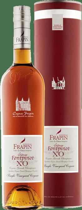 Cognac Château Fontpinot X.O. 0,35l Flasche