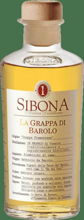 Sibona Grappa di Barolo