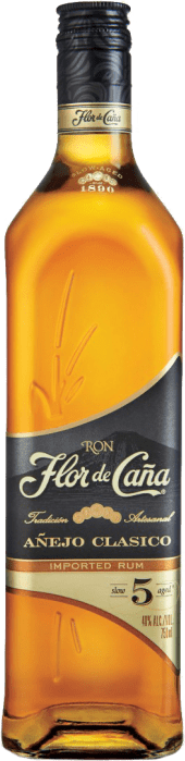 Flor de Caña Rum Clasico 5 Jahre