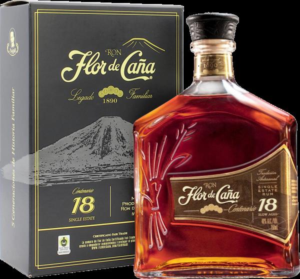 Flor de Caña Rum Centenario Gold 18