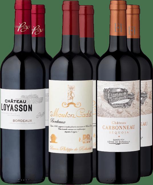 6er Probierpaket »Best Buy Bordeaux«