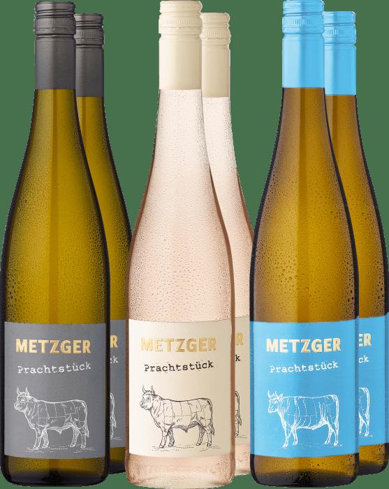 6er Probierpaket »Weingut Metzger in weiß«