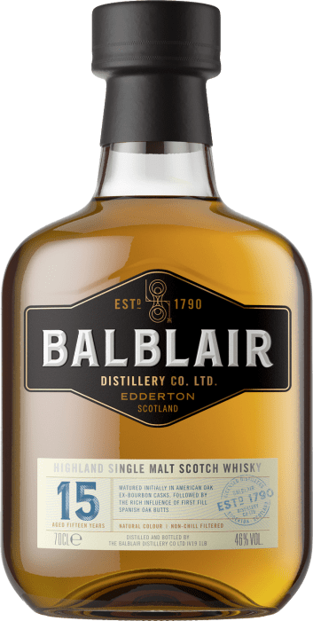 Balblair 15 Years Old Whisky