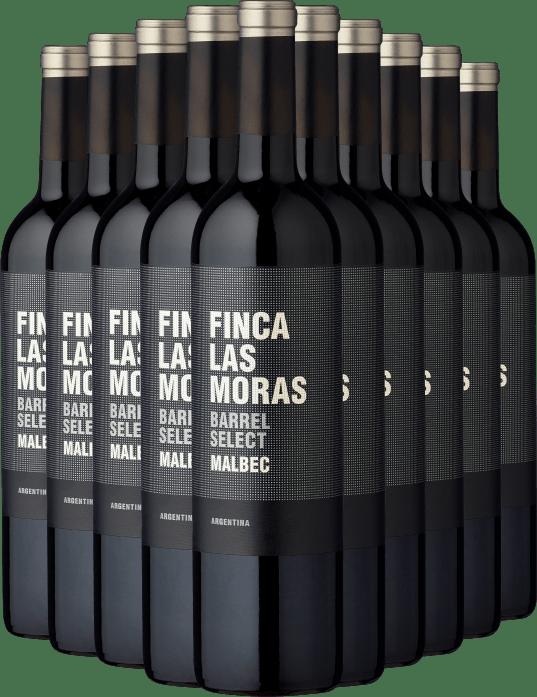 2020 Finca Las Moras Barrel Select Malbec im 10er Vorratspaket