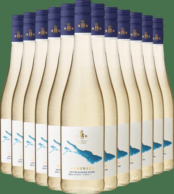 2020 Markgräflich Badisches Weinhaus Bodensee »Edition Schloss Salem« Blanc de Noirs im 12er Vorratspaket