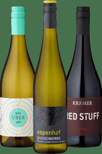 Probierpaket »Junge, wilde Winzer - die neue Generation Wein«