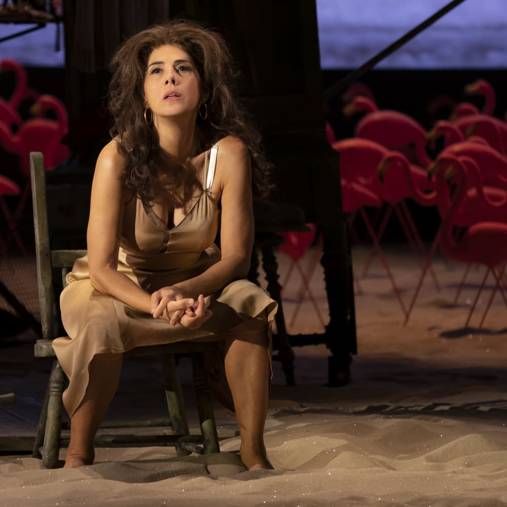 An Interview with Actress Marisa Tomei}