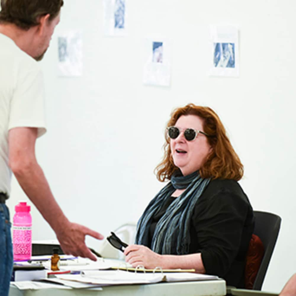 A Conversation with Theresa Rebeck}