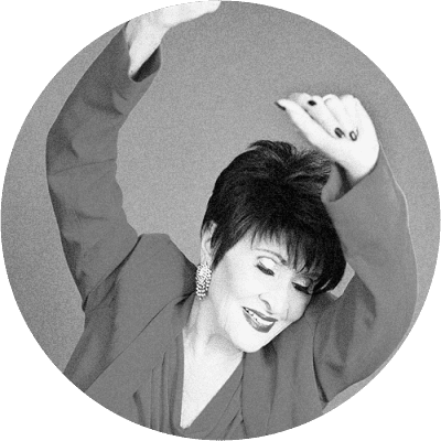 Chita Rivera and Scott Ellis
