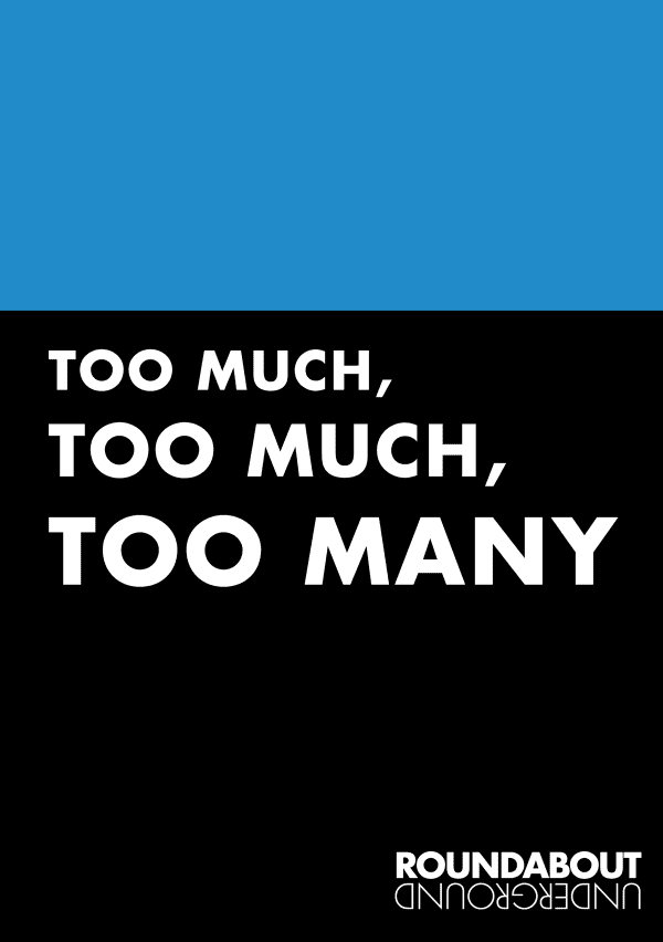 Artwork for Too Much Too Much Too Many