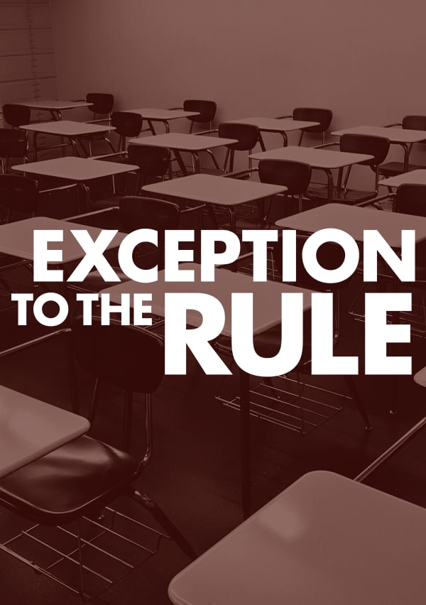 Artwork for Exception to the Rule
