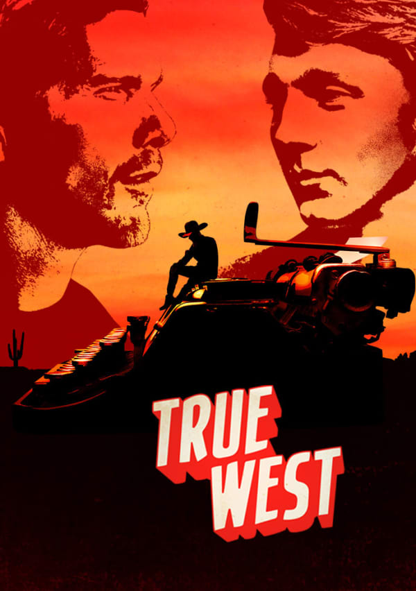 Artwork for True West