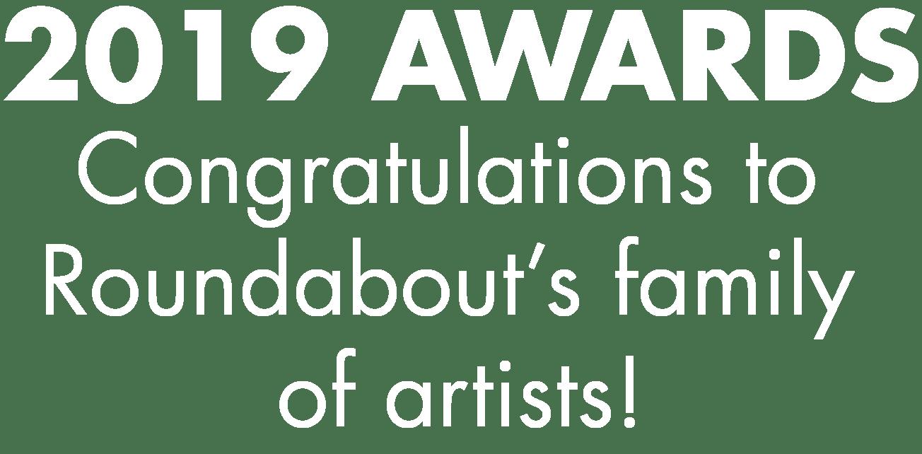 Artwork for 2019 Awards