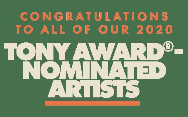Artwork for Tony Nominations