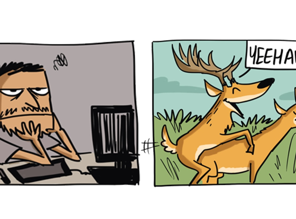 The Swamp Deer Likes to be Stuck in a Rut