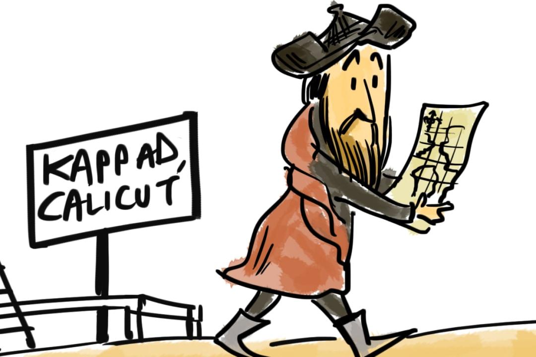 Vasco da Gama or Portuguese Man o' War: Who Got Here First?