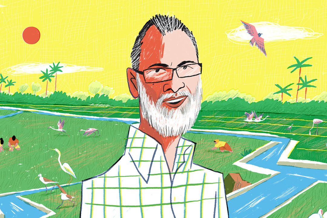 Kole's waterman: Protecting a wetland through paddy cultivation