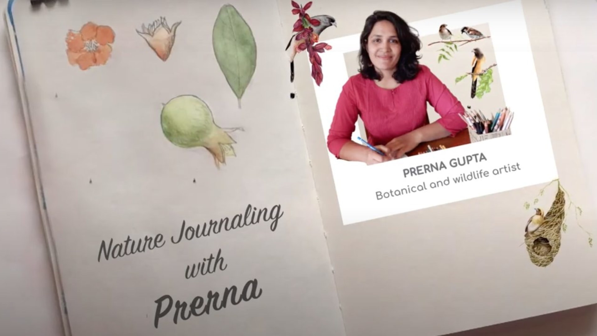 Nature Journaling with Prerna Gupta