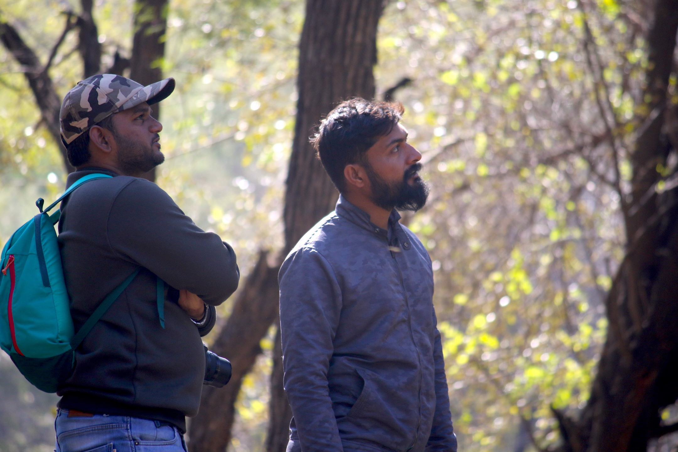 A keen student of nature, Abhinav is always willing to share his knowledge about the sanctuary's flora and fauna. Photo: Mayank Bohra