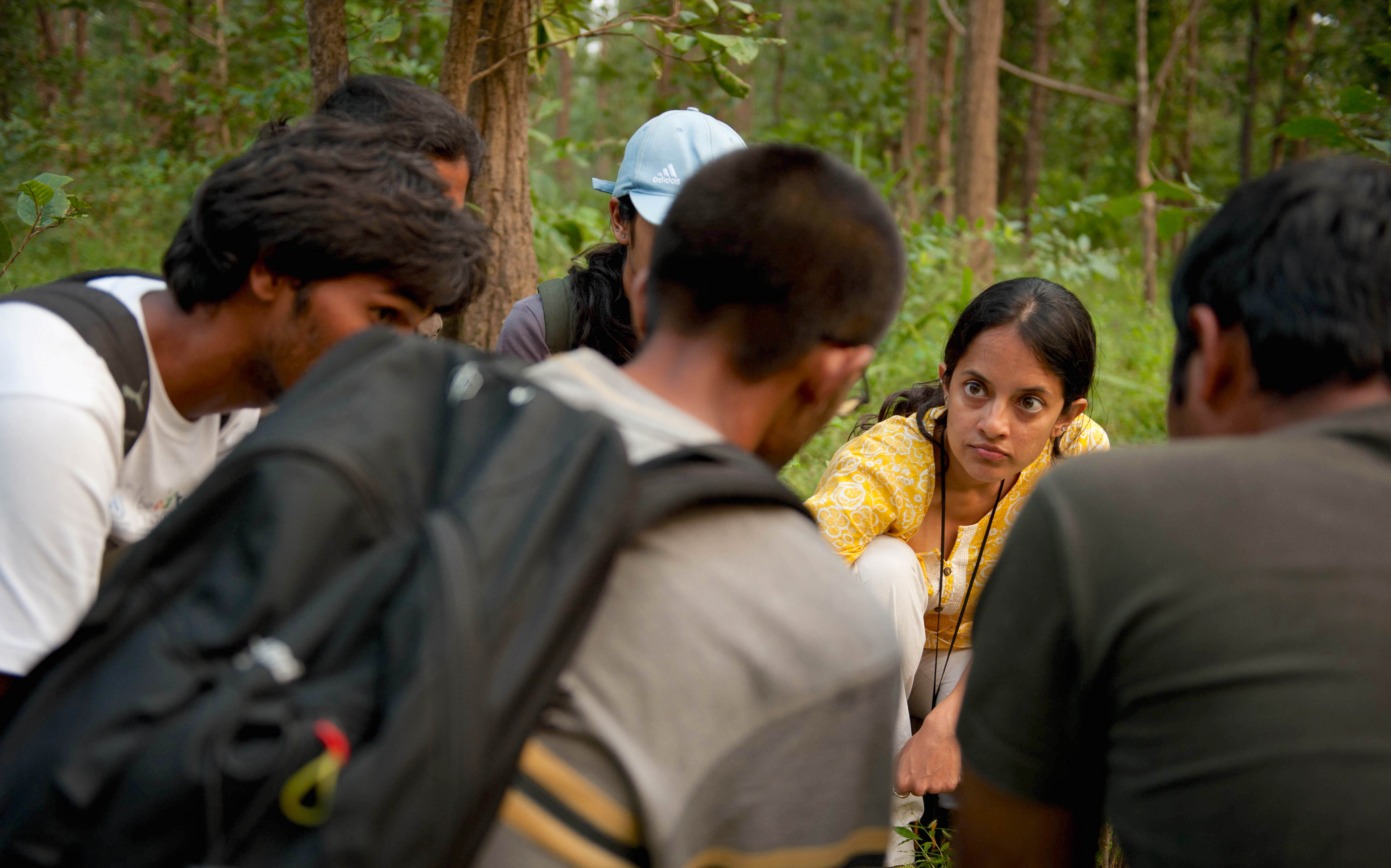 Krithi's work, trying to map human-animal conflict zones across India, started with a single project outside Kanha National Park. Photo: Kalyan Varma  Cover photo: After years of research work conservation scientist Krithi Karanth wanted to see a direct impact on the ground. She started Wild Seve to help people who incurred financial  losses due to human-wildlife conflict receive quick compensation.  Cover photo: Shekar Dattatri