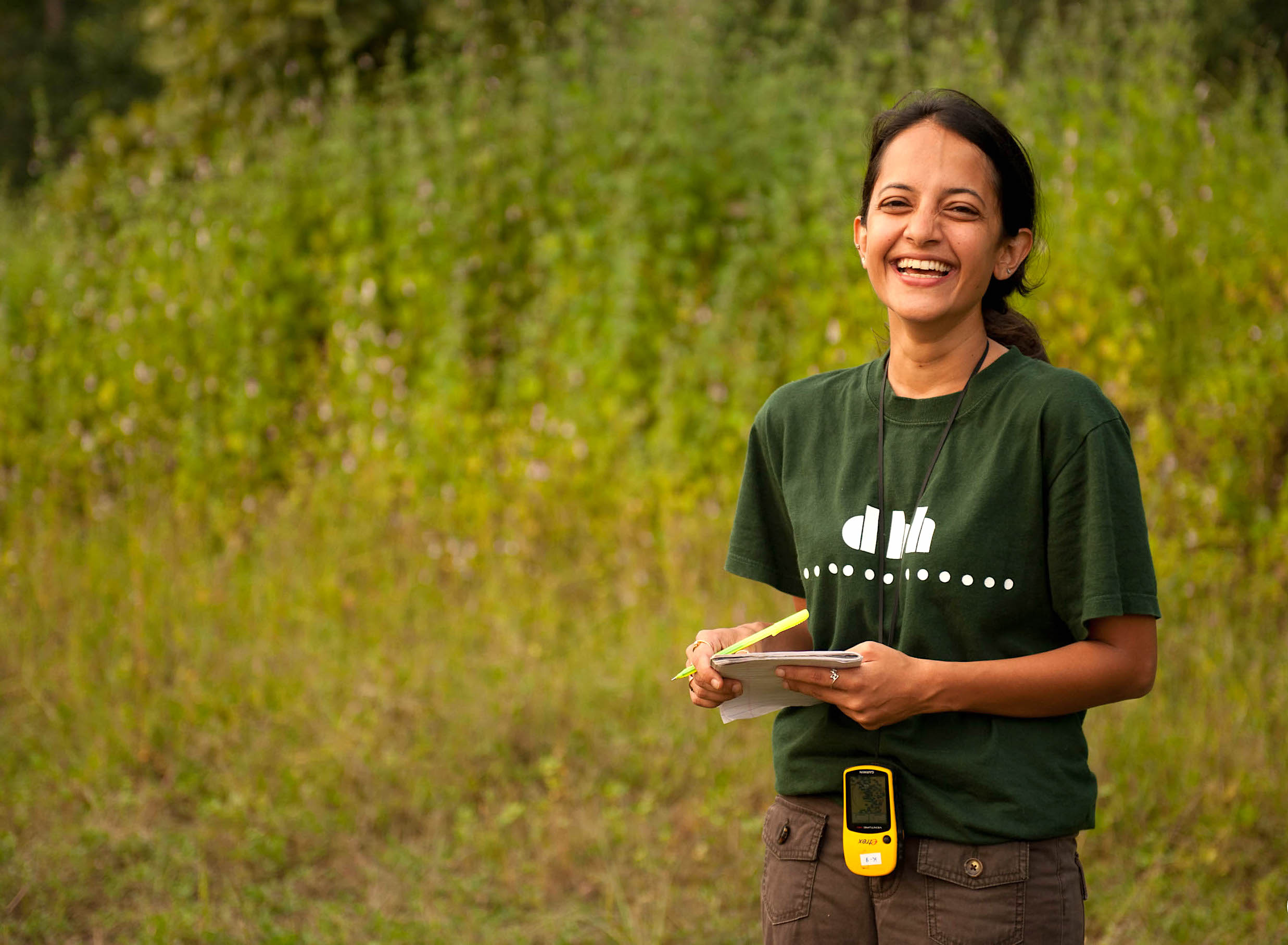 Krithi Karanth has spent much of her life, especially in the last two decades, trudging through dense forests, grasslands, wildlife sanctuaries, and parks to collect data. Photo: Kalyan Varma