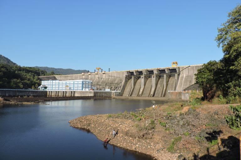 The Gerusoppa dam in Karnataka. Photo: Arathi Menon.
