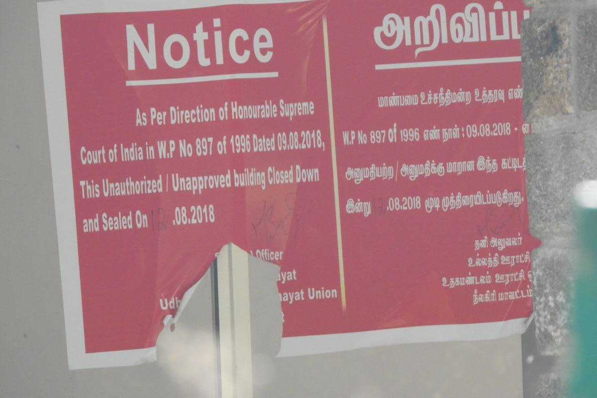 Around 39 resorts of the Masinagudi region face closure. Photo: Mathimaran