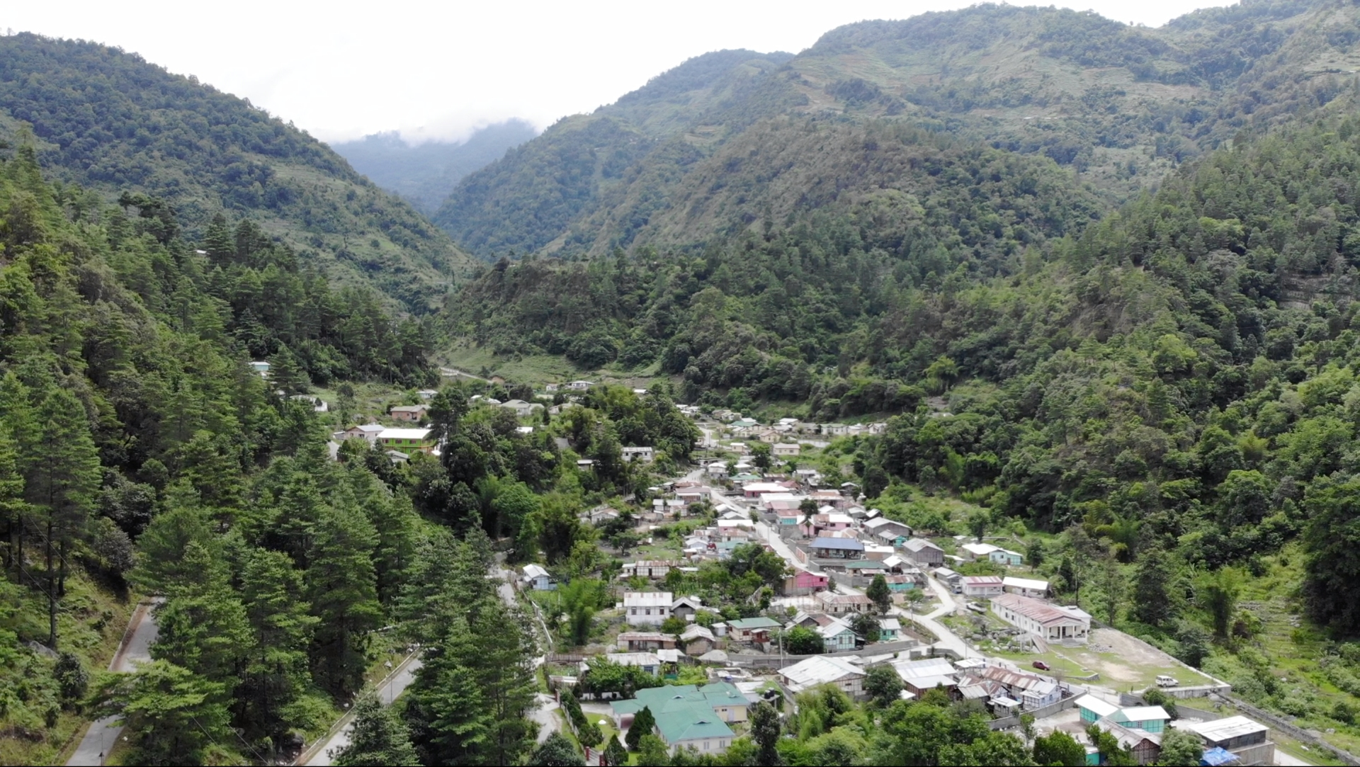 Singchung village is located in the West Kameng district of Arunachal Pradesh. The region is a biodiversity a hotspot, with numerous species that are yet to be classified. Photo: Shaleena Phinya </br> The bugun liocichla was officially discovered in 2006, and was the first avian species to be classified after India became a republic. It is classified as critically endangered by the IUCN, with 14 known individuals. It is one of five bird species in the genus Liocichla. Photo: Rohan Pandit
