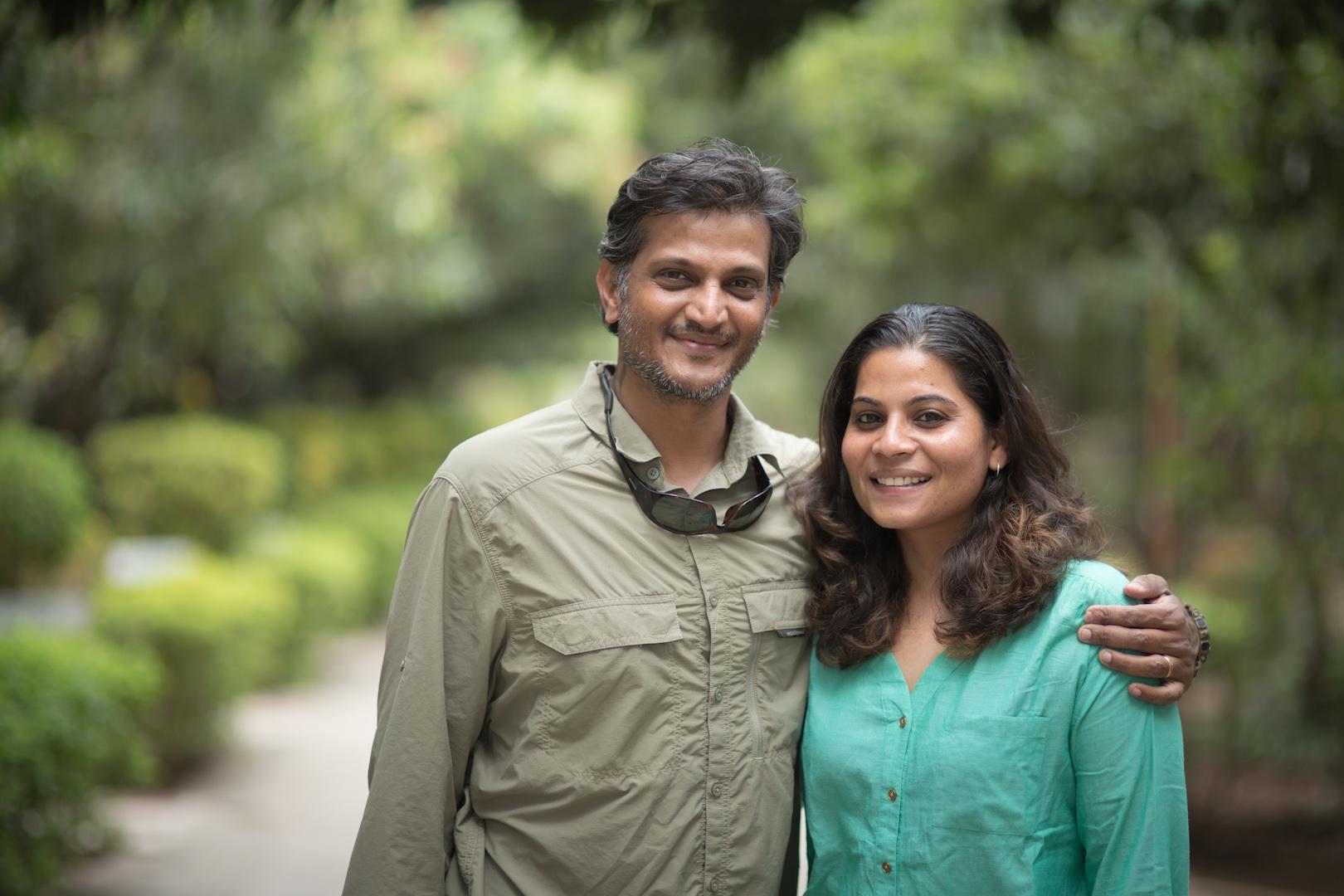 Vipul Ramanuj and Catherene Christian