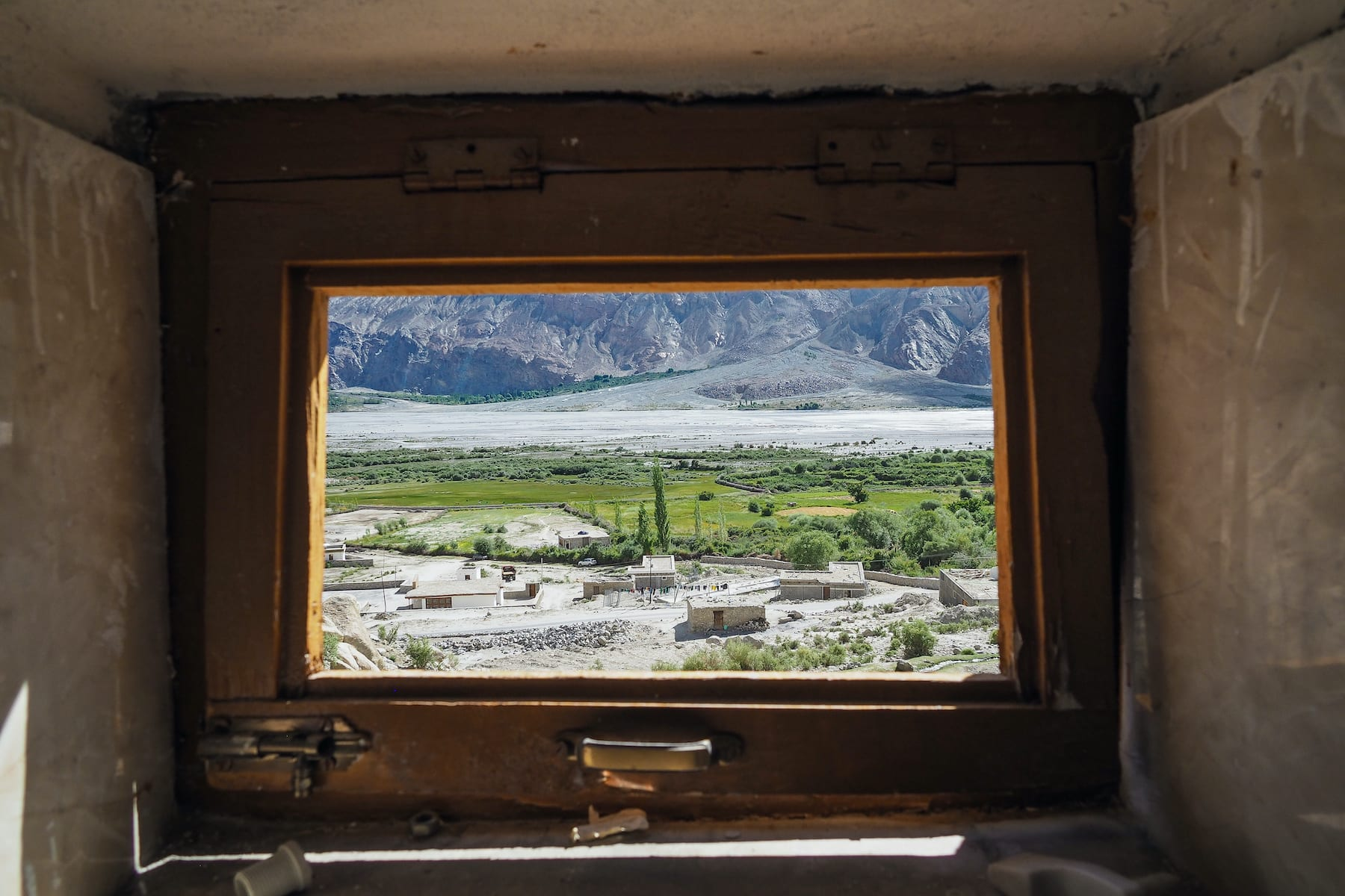 Most dry toilets have a small window to let in light and some air. This window overlooks mountains of the Nubra valley. Interestingly, according to locals and experts, the demand for water-based toilets seems to come more from domestic tourists than foreigners. Photo: Nipshutter/Shutterstock