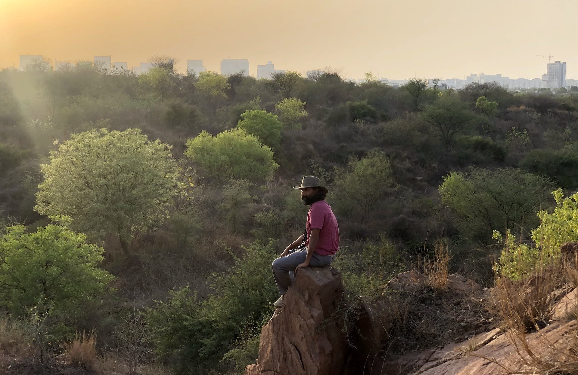 A large part of Dhasmana's work in the past 15 years has focused on restoring degraded landscapes of the Aravallis, the world's oldest fold mountain range.