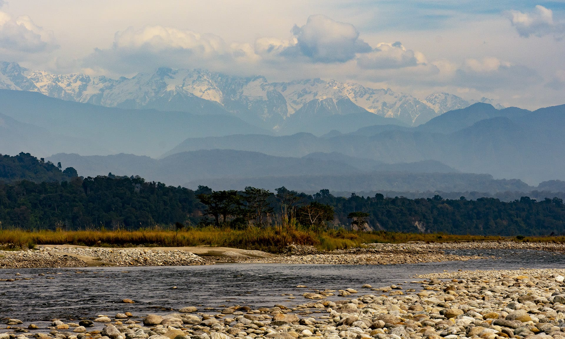 "The Himalayas lie to the north of Namdapha National Park and the Patkai hills to the south. The park is fed by two main freshwater bodies: the Namdapha river, and Noa-Dihing, a tributary of the Brahmaputra. The UNESCO World Heritage website calls the region ""Among the last great remote wilderness areas of Asia"".  Photo: Dhritiman Mukherjee"