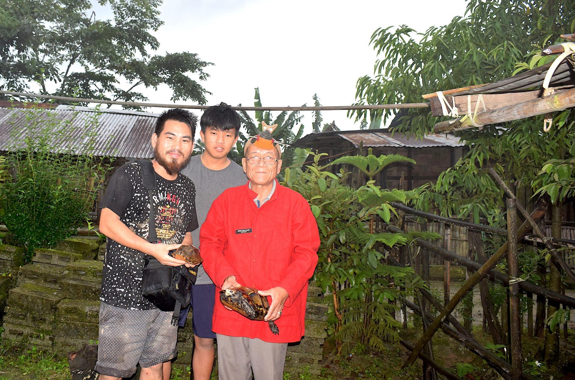 arunachal-pradesh-gaon-bura-spreading-message-conserving-impressed-tortoises